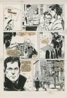 Punisher page Comic Art