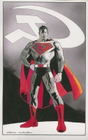 Superman: Red Son Commission Comic Art