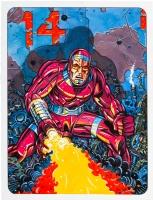 Jack Kirby�s Machine Man, the Living Robot! Comic Art