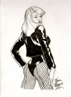 KEVIN MAGUIRE BLACK CANARY PINUP ILLO Comic Art