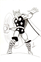 JOHN ROMITA JR AND JOHN ROMITA SR THOR (KIRBY JIM 89) Comic Art
