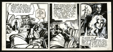 Forest / Billon - Barbarella strip from  Le Miroir aux Tempetes  (1981) Comic Art