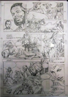 Felmang - The Phantom page prelim (1991) Comic Art