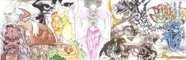 The Dark Crystal Jam Comic Art