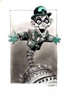 Riddler birthday card, by Tim Sale Comic Art