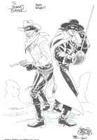 Lone Ranger & Zorro by Sergio Cariello Comic Art