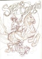 Rebecca Guay: Space Cowgirl Comic Art