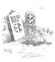 Al Feldstein - EC Zombie Comic Art