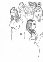 Alex Toth: Sexy Girls drawing Comic Art