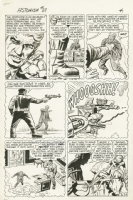 Tales to Astonish #37 Ant-Man int. page by Jack Kirby Comic Art