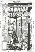 Rawhide Kid #140 cover by Gil Kane Comic Art