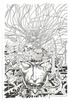 Machine Man #1 cover by Barry Windsor Smith Comic Art