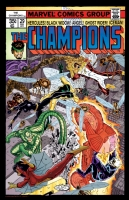 Imaginary Champions Cover by John Byrne--In Color Comic Art