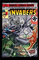 Byrne Invaders in Color Comic Art