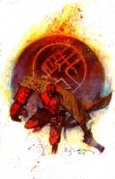 Hellboy Comic Art