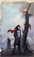 R.A. Maguire paperback cover prelim 12 Comic Art