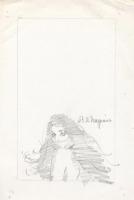 R.A. Maguire paperback cover prelim 4 Comic Art