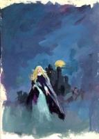 R.A. Maguire paperback cover prelim 6 Comic Art