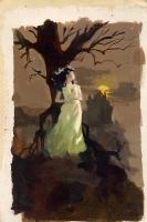 R.A. Maguire paperback cover prelim 9 Comic Art