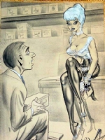 Bill Ward  Shoe Shop  - SOLD! Comic Art