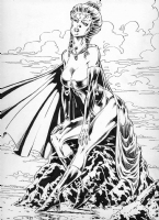 Black Queen - Mike Gustovich Comic Art
