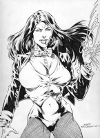 Mike Gustovich - Zatanna Comic Art