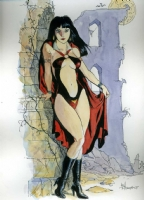 Bo Hampton - Vampirella Comic Art