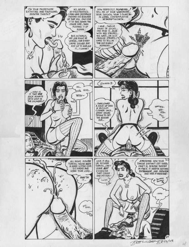 Gilbert Hernandez - Birdland page 24 Comic Art