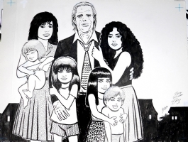 Gilbert Hernandez - Khamo and the Kids, Comic Art