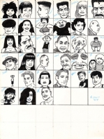 Gilbert Hernandez - Love & Rockets Calendar piece 1989, Comic Art