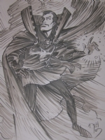 Dr Strange, Comic Art
