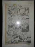 Legion Of Super Heroes #70 Pg. 14 (Vol.4) Comic Art