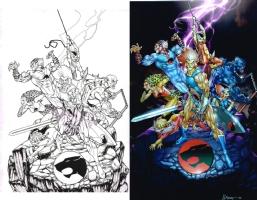 Thundercats prog by JJ Kirby Comic Art