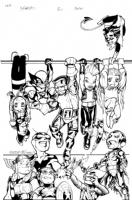 X-Babies # 2 (Reborn) Cover Comic Art