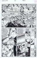 WildCATS #4 pg. 6 Comic Art