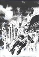 Batman Wizard #162 Cover  - Hush promotion, Comic Art