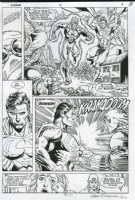 Superman VS. Doomsday -HISTORIC First Meet From the Death of Superman Storyline, Comic Art