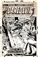 Daredevil # 115 - Ross Andru (1974) Comic Art