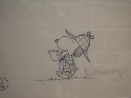 Sherlock Holmes: Snoopy Comic Art