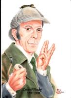 Sherlock Holmes Comic Art