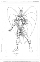 Moth Man - Mark Bagley Comic Art