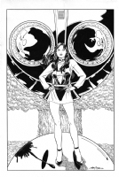Silk Spectre II - Terry Moore Comic Art