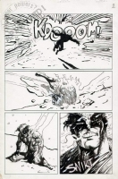 Bolton - Classic X-Men 25 page 2 Comic Art