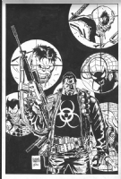 Marvel Universe Vs. The Punisher #1 cover Comic Art