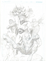 New Avengers Jam finale Comic Art