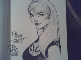 Jim Lee Mary Jane Comic Art