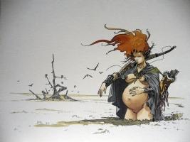 Loisel - Planche - Porfolio Comic Art