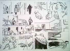 Darwyn Cooke � Parker: The Hunter prelim Comic Art