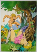 Naga 9 cover painting by Leone Frollo Comic Art