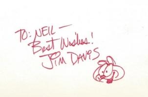 Garfield Comic Art